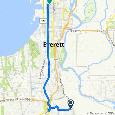 Fast ride in Everett