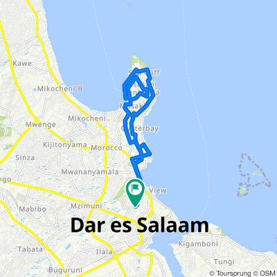 Slow ride in Dar es Salaam