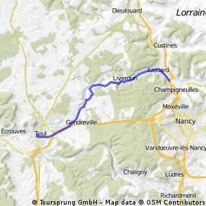 Trier-Cluny, Etappe 4a, Frouard ZAC-Toul