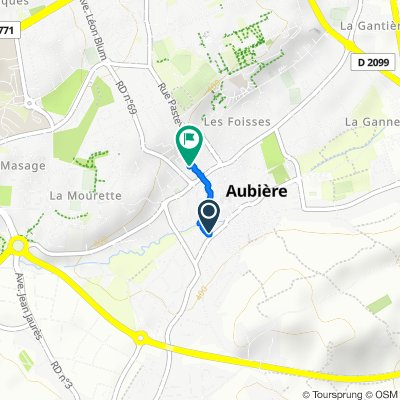 Steady ride in Aubière