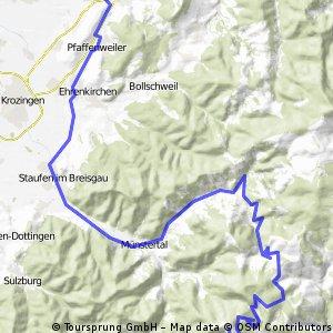 Wolfenweiler - Belchen