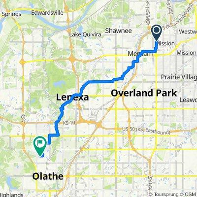 Easy ride in Olathe