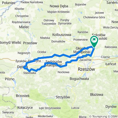 dębica i druga stobierna WERSJA GOTOWA 125km