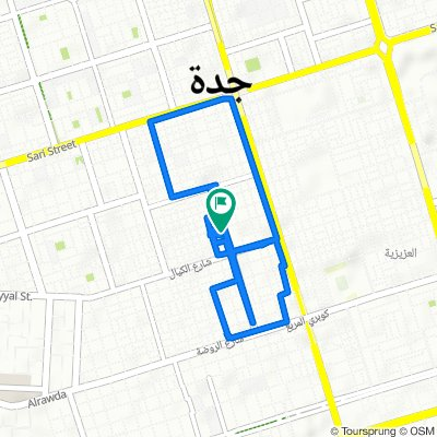 Moderate route in جدّة‎