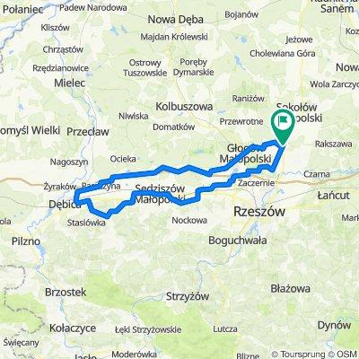 dębica i druga stobierna WERSJA GOTOWA  121km ZYDSON EDITION