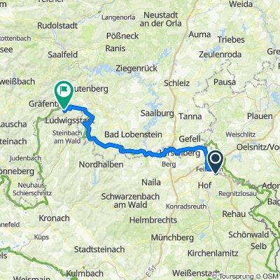 Grünes Band DE 04/14: Gumpertsreuth - Lauenstein