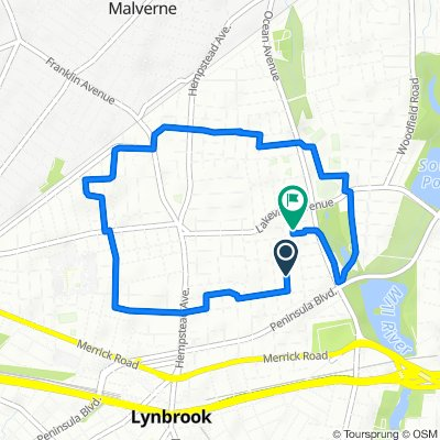 Moderate route in Lynbrook
