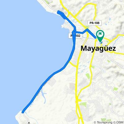De 54–70 Calle R Martínez Nadal, Mayagüez a 54–70 Calle R Martínez Nadal, Mayagüez