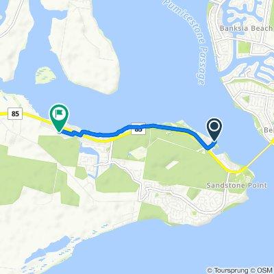 Restful route in Ningi