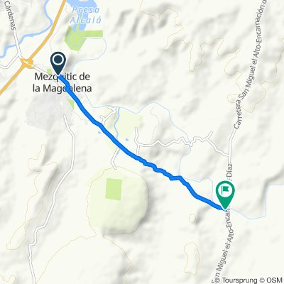 Paseo lento en Mezquitic de la Magdalena