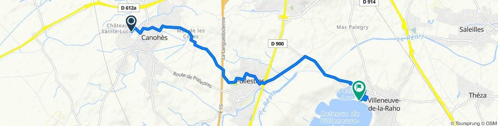De 17 Rue Hyacinthe Rigaud, Canohès à 93 Lotissement Las Pastoures, Villeneuve-de-la-Raho