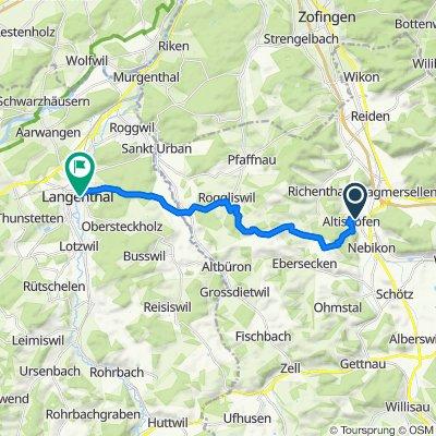 Dorf 14, Altishofen nach Spitalgasse 25, Langenthal