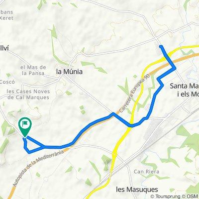 De Calle Major Sant Marçal, 1–11, Castellet i la Gornal a Calle Major Sant Marçal, 1–11, Castellet i la Gornal