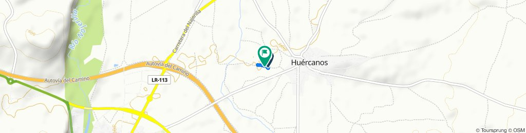 Relaxed route in Huércanos