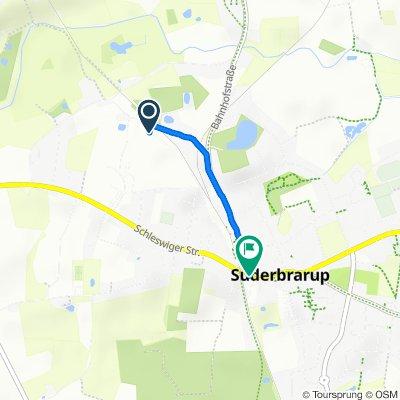 Steady ride in Süderbrarup