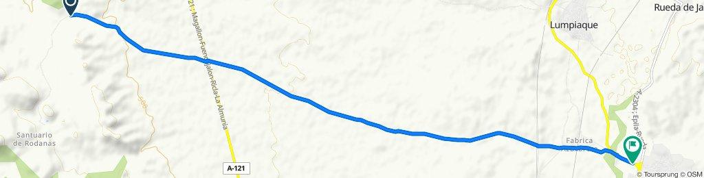 Paseo lento en Épila