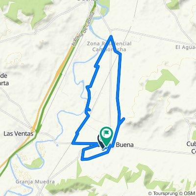 Steady ride in Valoria la Buena