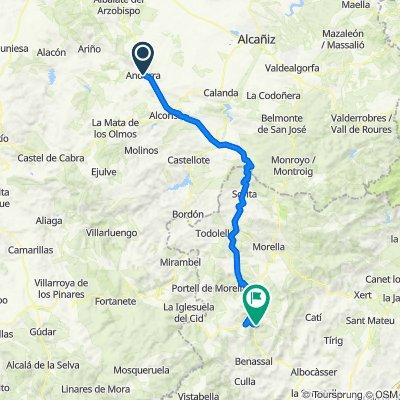 Andorra - Ares del Maestrat
