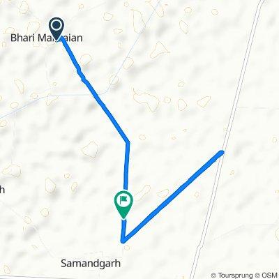Chattriwala-Bhari Mansa Road to Unnamed Road