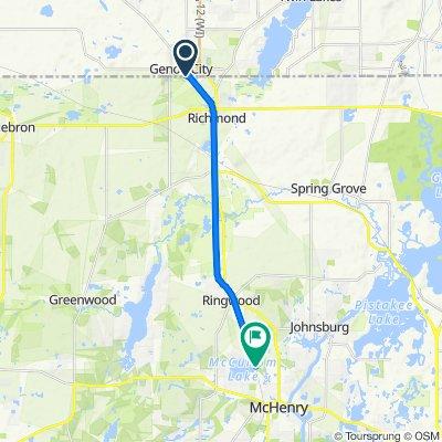 Prairie Trail to McCullum Lake