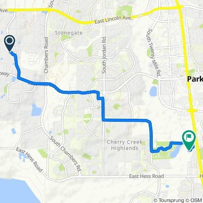 Sporty route in Parker