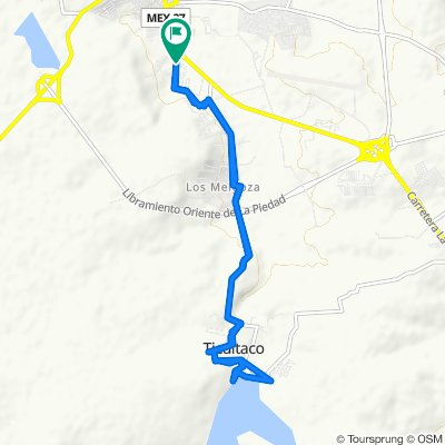 Easy ride in La Piedad