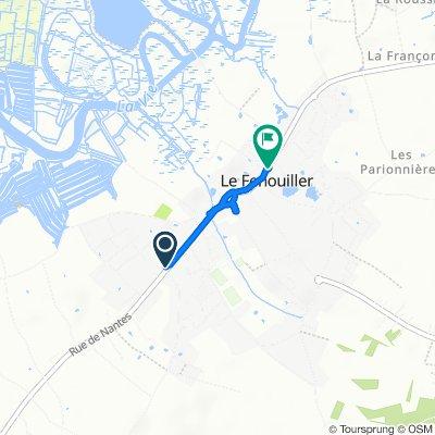 Steady ride in Le Fenouiller