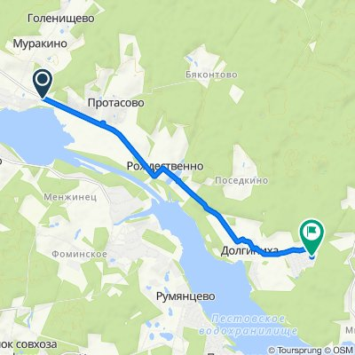 Moderate route in Ельдигинское