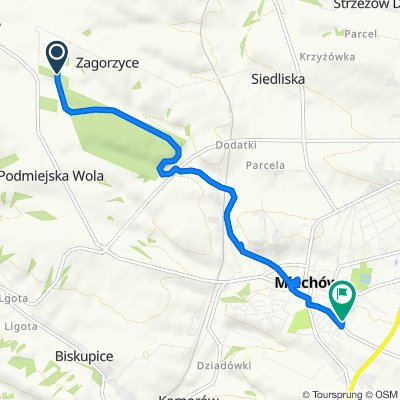 Moderate route in Miechów