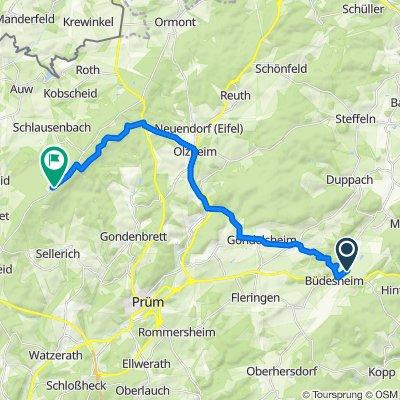 Auf Erden 15, Büdesheim nach L20, Buchet