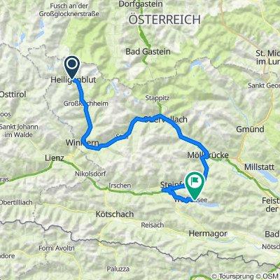 03 Heiligenblut - Weissensee 109km 1270HM