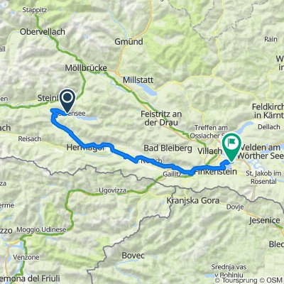 04 Weissensee - Faaker See 80 km 490HM