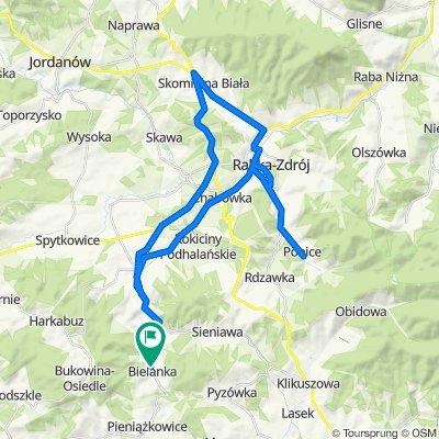 High-speed route in Bielanka