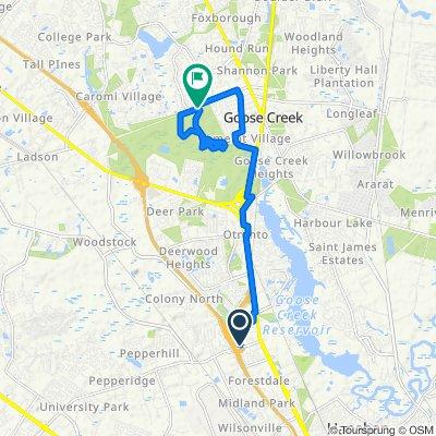 Easy ride in North Charleston