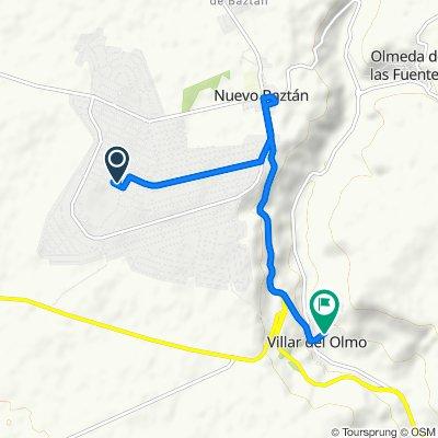 маршрут с Avenida Luxemburgo 36, Nuevo Baztán