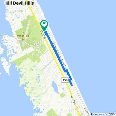 Steady ride in Kill Devil Hills