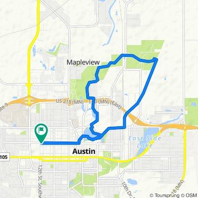Easy ride in Austin