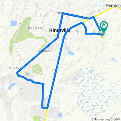 Tupelo Trail 800, Hinesville to Tupelo Trail 800, Hinesville