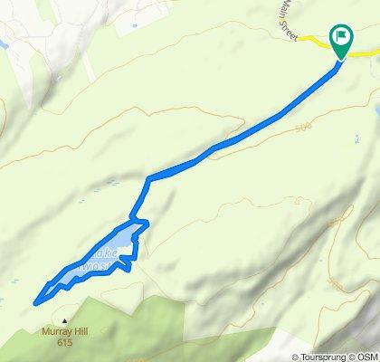 Restful route in Kerhonkson