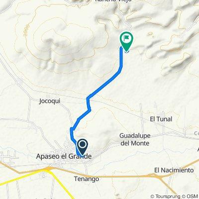 De De Guadalupe 69, Apaseo el Grande a Unnamed Road