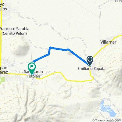 De Allende 1, Centro a Cuauhtémoc Cárdenas 22, San Martín Totolán