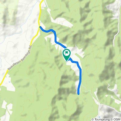 Relaxed route in Cedar Creek