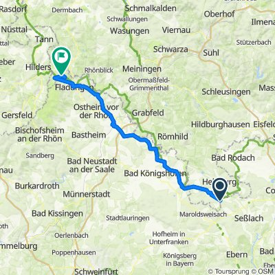 Grünes Band DE 06/14: Poppenhausen - Frankenheim (Rhön)