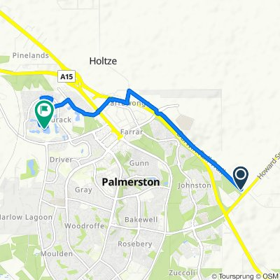 Route to 49 Don Circuit, Durack