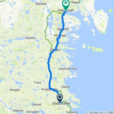 Söderhamn —— Hudiksvall