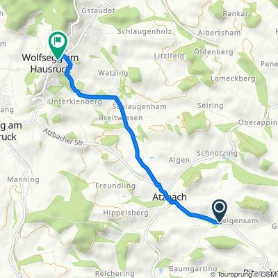 Easy ride in Wolfsegg am Hausruck