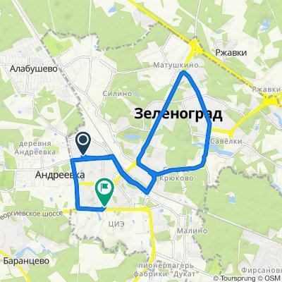 От 14-й микрорайон, 1446с8, Москва до 20-й микрорайон, 2014, Москва