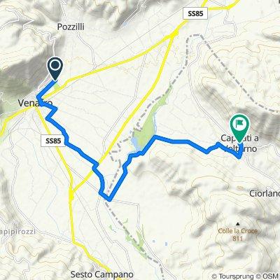 Da Via Maiella 49, Venafro a Via San Rocco 11, Capriati A Volturno