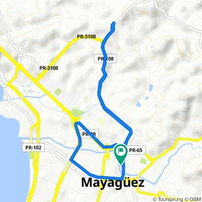 Easy ride in Mayagüez