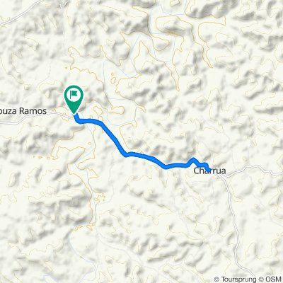 Moderate route in Getulio Vargas